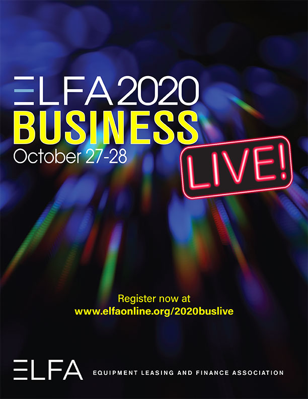 ELFA 2020 Business LIVE! Registration Brochure